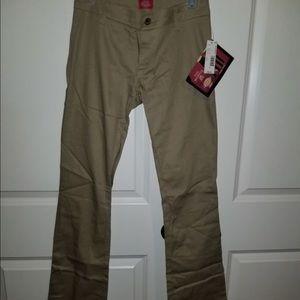 Denim - Dickies girls boot cut pants